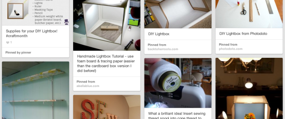 A DIY Lightbox Project – Coming Soon!