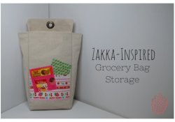 Zakka-Inspired Bag Storage