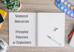 My Weekly Web Finds ~ Freebie Planners & Organizers!