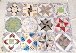 WIP Wednesday: Quilt Tops & Funky Log Cabins