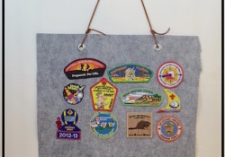 DIY – Cub Scout Patch Banner