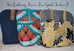 Call for Pattern Testers!! ~ The Diane Tote ~