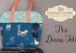 Now Available!! ~ The Diane Tote Pdf Pattern ~