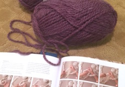 ~Knitting Without Needles ~  My Infinity Scarf