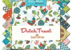 The Summer Treat Traveler using Dutch Treat Fabric by Betz White!