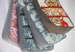 Sparkly Linen Goodness ~ New Handbags ~
