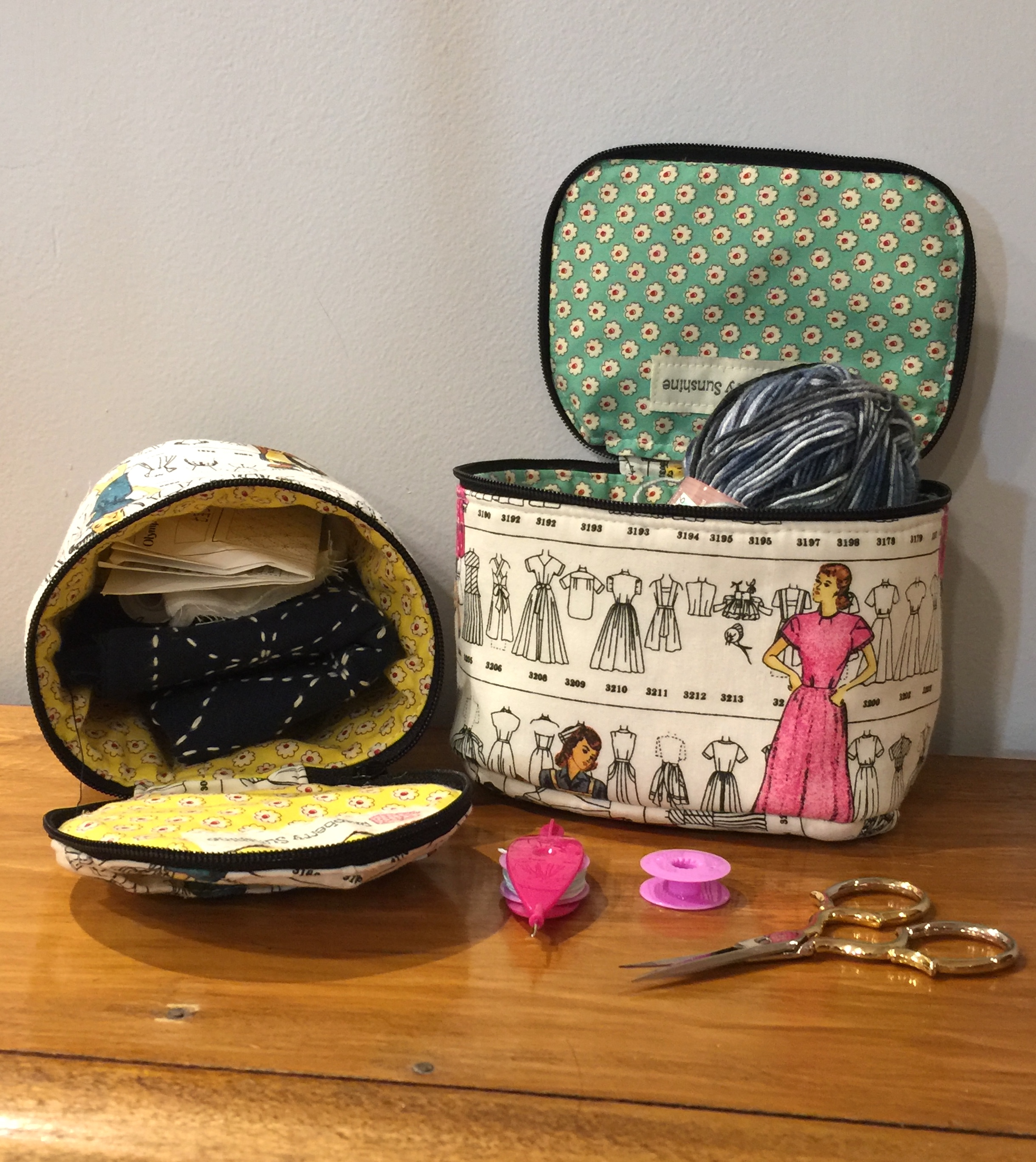My Kismet Trinket Boxes – A Sew Sweetness Pattern